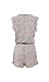 BCBGeneration Carved Blooms Surplice Romper Thumb 2
