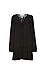 BCBGeneration Long Sleeve Lace-Up A-Line Dress Thumb 1