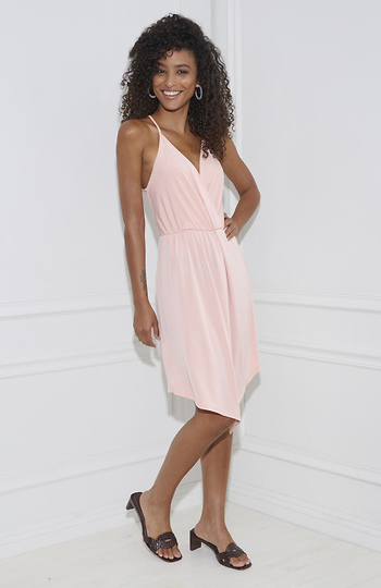 BCBGeneration Surplice Cocktail Dress Slide 1