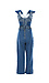 Ruffled Sleeve Denim Jumpsuit Thumb 2