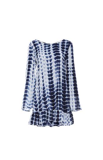 RAGA Peplum Hem Tunic Dress Slide 1