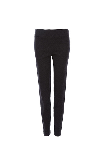 Marie Floral Jacquard Slim Leg Pant Slide 1