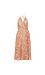 ASTR the Label Surplice Pleated Dress Thumb 1