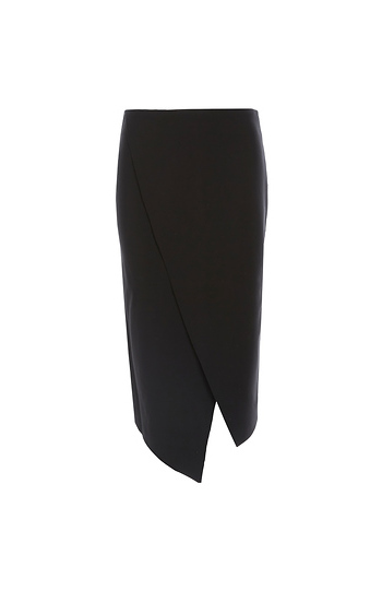 Finders Keepers Wrap Pencil Skirt Slide 1