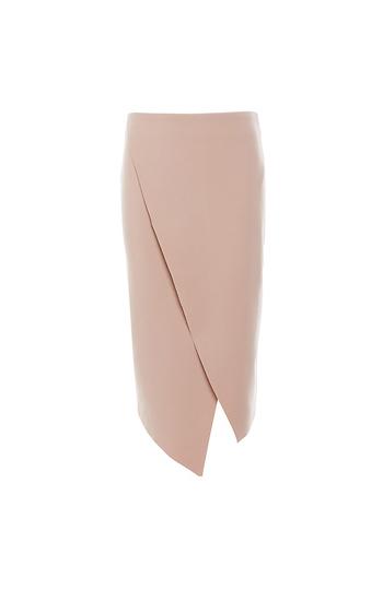 Finders Keepers Wrap Pencil Skirt Slide 1