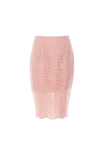Keepsake Lace Pencil Skirt Slide 1