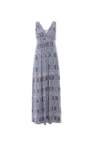 Tart Collections Lace Up Back Sleeveless Maxi Dress Slide 1