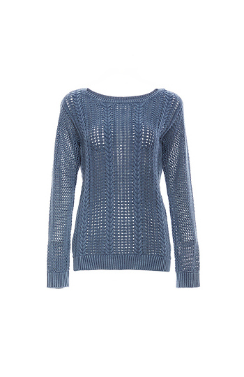 BB Dakota Open Knit Sweater Slide 1