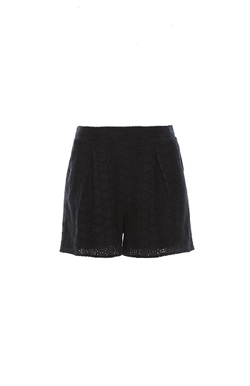 BCBGeneration Eyelet Short Slide 1
