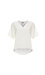 3.1 Phillip Lim Short Sleeve Top with Raw Edge Trim Thumb 1