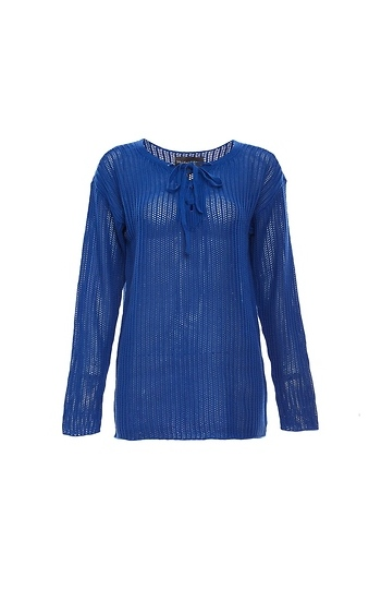 Michael Stars Lace-Up Sweater Slide 1