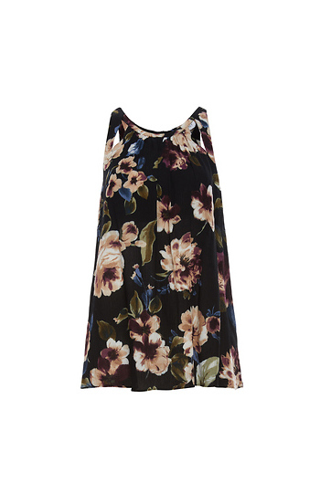 Floral Sleeveless Top Slide 1