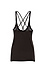 Chaser Gauzy Cotton Jersey Scoop Neck Strappy Back Tank Thumb 2