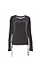 Chaser Silk Long Sleeve Lace Up Dolman Thumb 1