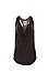 Chaser Vintage Jersey Cowl Neck Racer Back Shirttail Tank Thumb 1