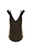 Chaser Cool Jersey Ruffle Strap Double V Cami Thumb 2