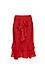 Front Tie Ruffle Skirt Thumb 1