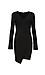 Elisa Long Sleeve V-Neck Dress Thumb 1