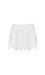 Elasticized Waist Lace Shorts Thumb 1