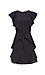 Sara Flutter Sleeve Polka Dot Dress Thumb 1