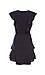 Sara Flutter Sleeve Polka Dot Dress Thumb 2