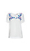 Skies Are Blue Embroidered Short Sleeve Top Thumb 1