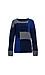 Velvet by Graham & Spencer Patchwork Sweater Thumb 1