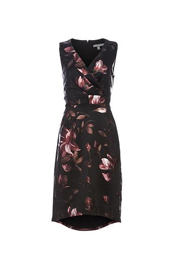 Surplice A-Line Dress Slide 1