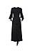 GOEN.J Arch-Shaped Ruffle-Trimmed Dress Thumb 1