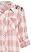 Skies Are Blue Embroidered Shoulders Plaid Shirt Thumb 3