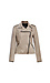 KUT from the Kloth Haddie Scuba Faux Suede Moto Jacket Thumb 1