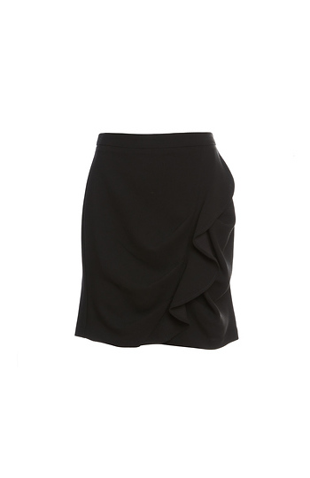 BCBGeneration Ruffle Mini Skirt Slide 1