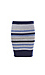 BCBGeneration Knitted Striped Skirt Thumb 1