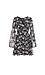 Surplice Long Sleeve Waist Tie Dress Thumb 1