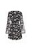 Surplice Long Sleeve Waist Tie Dress Thumb 2
