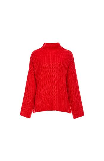 Again Echos Oversized Slouch Knit Sweater Slide 1