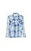 Raw Hem Button Up Plaid Shirt Thumb 1