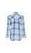 Raw Hem Button Up Plaid Shirt Thumb 2