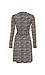 Long Sleeve Printed Wrap Dress Thumb 2