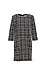 3/4 Sleeve Tweed Dress Thumb 1