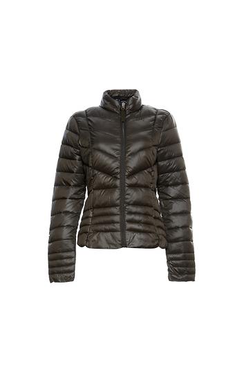 Vero Moda Quilted High Neck Zip Up Light Down Jacket Slide 1