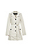 Vero Moda Button Front 3/4 Trench Coat Thumb 1