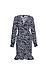 Vero Moda Long Sleeve Printed Wrap Dress Thumb 1