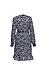 Vero Moda Long Sleeve Printed Wrap Dress Thumb 2