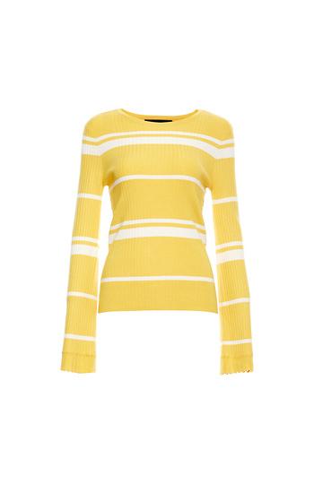 Vero Moda Striped Long Sleeve Top Slide 1
