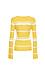 Vero Moda Striped Long Sleeve Top Thumb 2