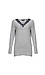 Vero Moda V-Neck Lace Detail Sweater Thumb 1