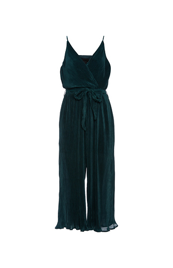 Surplice Sleeveless Jumpsuit Slide 1