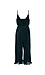 Surplice Sleeveless Jumpsuit Thumb 2