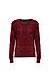 V-Neck Novelty Sequins Sweater Thumb 1